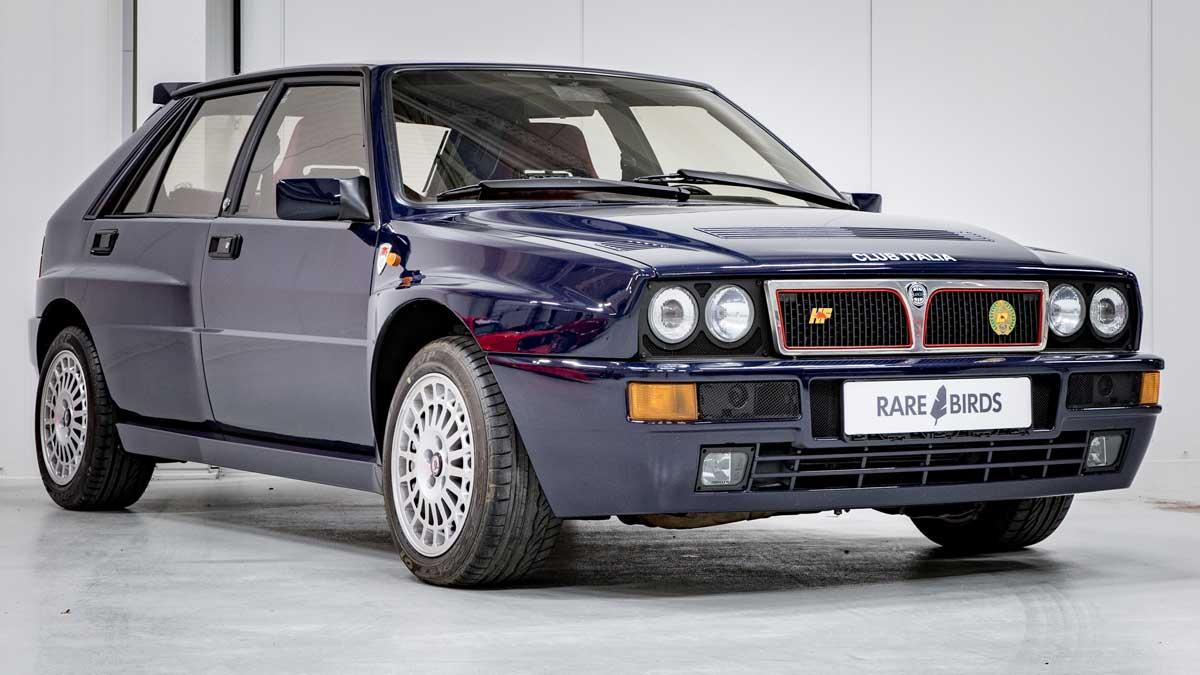 BMW Alpina B6 >> Lancia Delta Integrale Club Italia: A limited edition gem