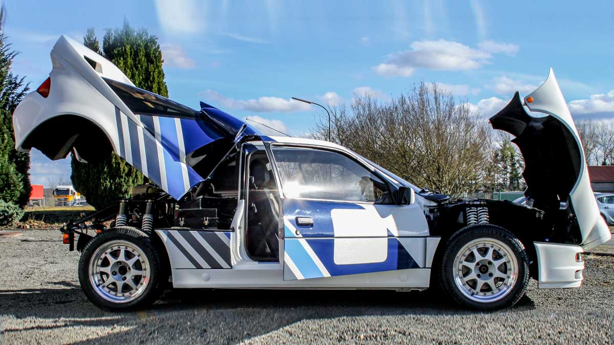 Ford RS 200 S: the epitome of a fast-paced era of rallies